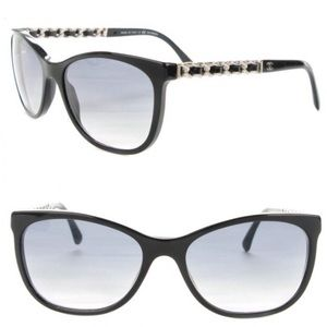 CHANEL CC Chain Polarized Sunglasses 5260-Q